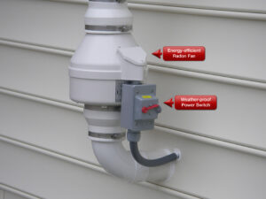 Element of mitigation system that can be checked during radon inspection | Keystone ETS