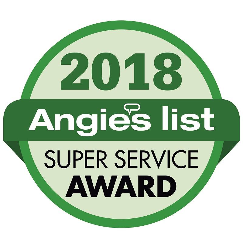 Angies List Super Service Award 2018 - Radon-Rid, LLC