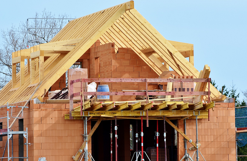 home construction site- radon rid discusses why contractors should get radon testing done